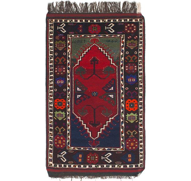 3' 5 x 5' 9 Anatolian Oriental Rug