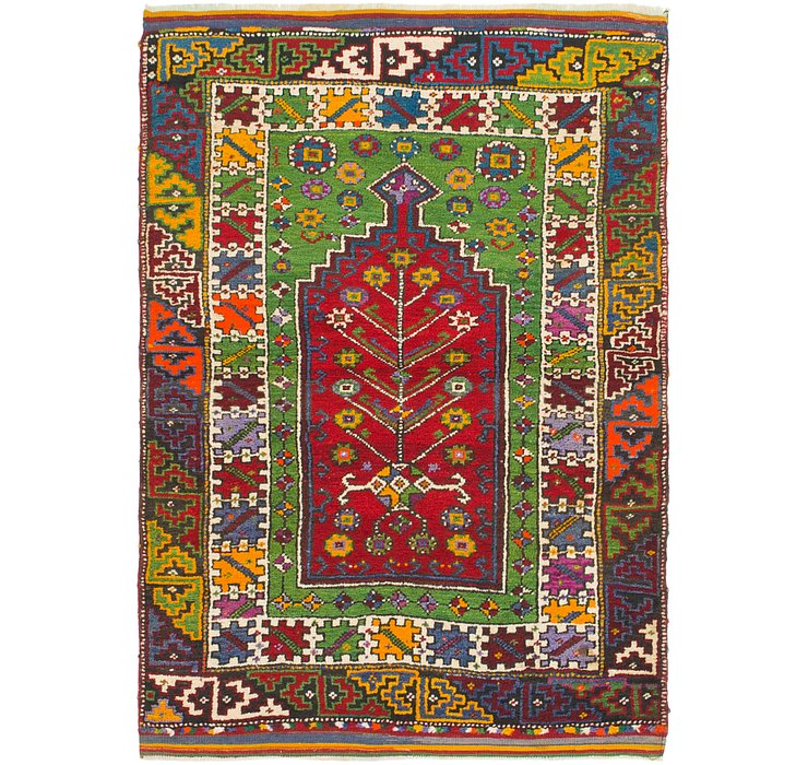 3' 8 x 5' Anatolian Rug