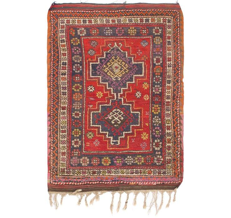 3' 9 x 5' 5 Anatolian Rug