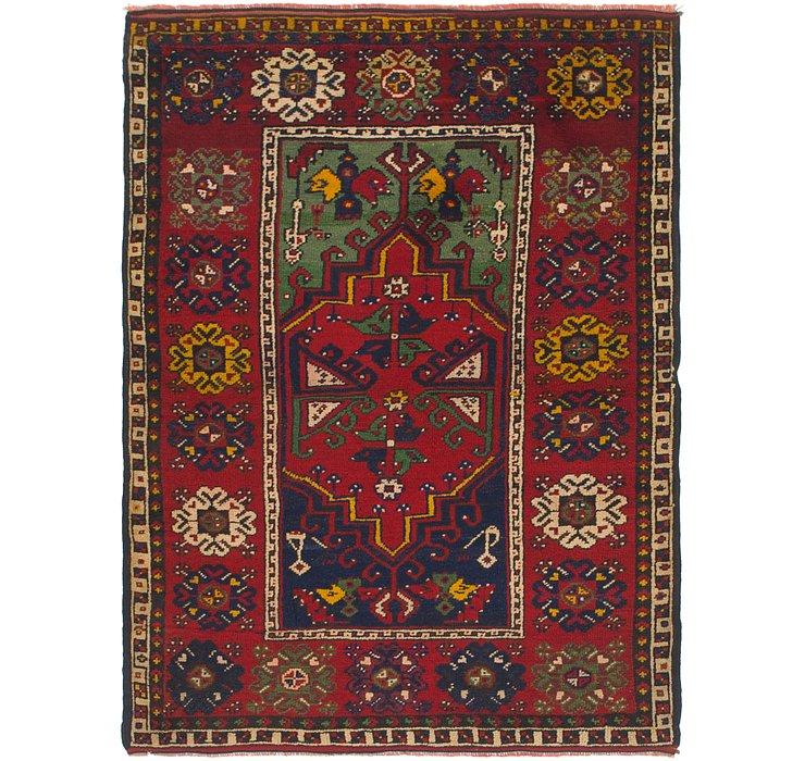 4' x 5' 7 Anatolian Rug