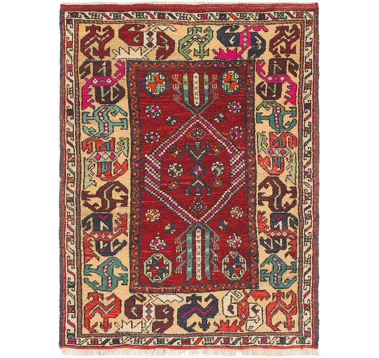 4' x 5' 3 Anatolian Rug