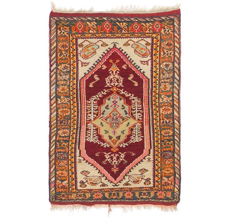3' 4 x 5' 2 Anatolian Rug