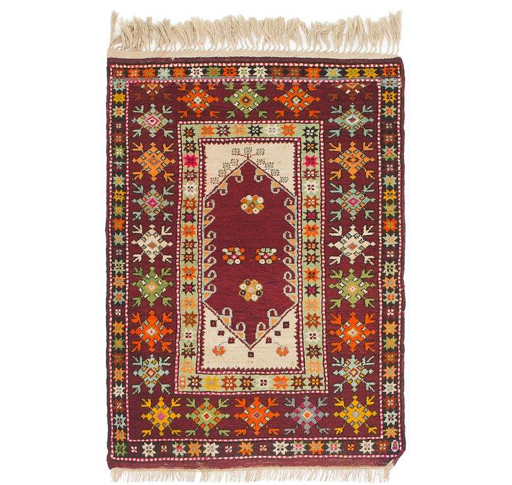 3' 8 x 5' 4 Anatolian Oriental Rug