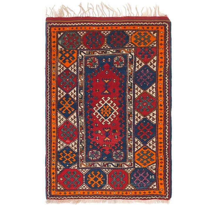 4' x 6' 3 Anatolian Rug