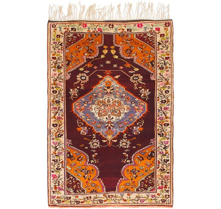 4' 4 x 6' 8 Anatolian Oriental Rug
