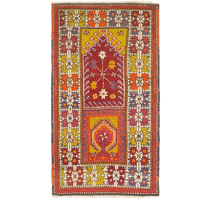3' 3 x 6' 3 Anatolian Oriental Rug