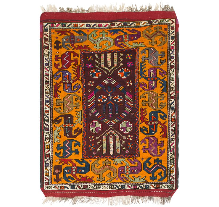 4' 3 x 5' 10 Anatolian Rug