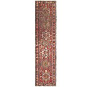 Link to 2' 8 x 11' Gharajeh Persian Runner Rug