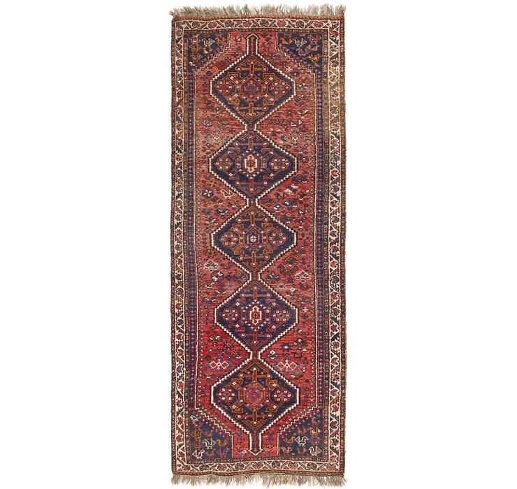 4' x 11' 3 Ghashghaei Persian Runn...