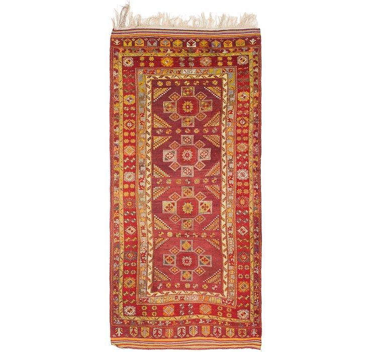 4' 8 x 10' 8 Anatolian Oriental Runn...