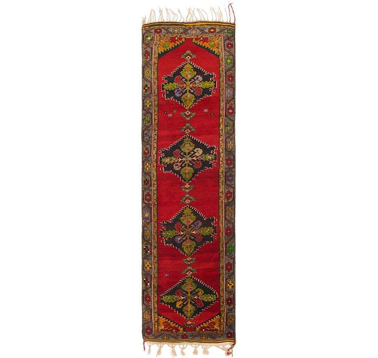 3' 9 x 14' 5 Anatolian Oriental Runn...
