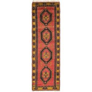 4' x 13' 9 Kars Oriental Runner Rug