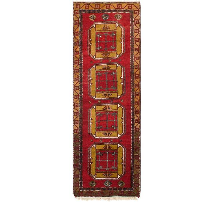 4' x 13' 4 Anatolian Runner Rug