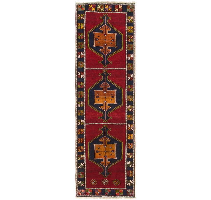 3' 6 x 12' 10 Anatolian Oriental Runn...