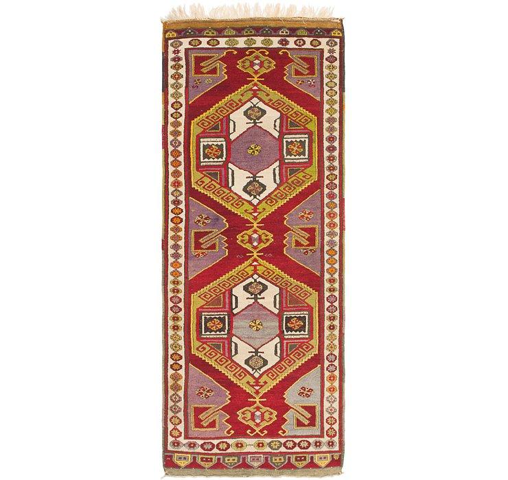 4' x 10' 7 Kars Oriental Runner Rug
