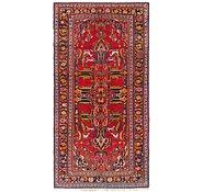 Link to Unique Loom 4' 10 x 9' 7 Hamedan Persian Runner Rug