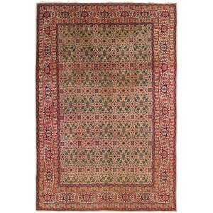 Link to 6' 8 x 9' 8 Tabriz Persian Rug page
