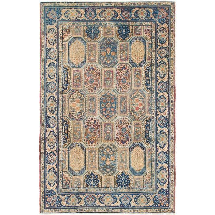 6' 6 x 10' 2 Yazd Persian Rug