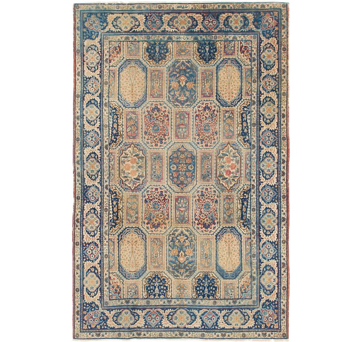 198cm x 310cm Yazd Persian Rug