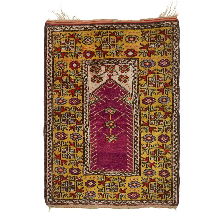 3' 3 x 4' 7 Anatolian Oriental Rug