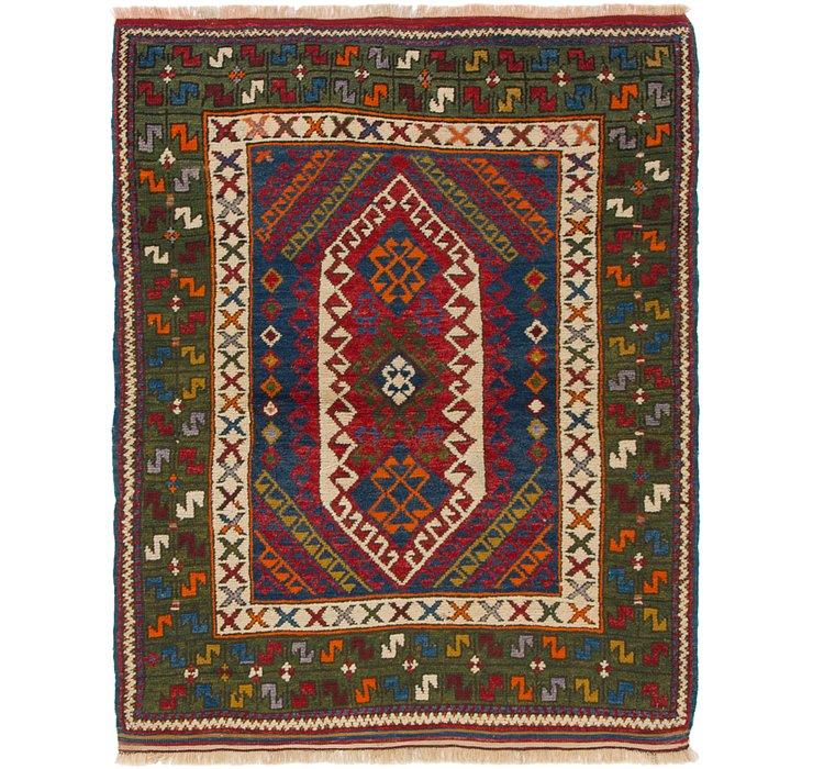3' 9 x 4' 9 Anatolian Oriental Rug