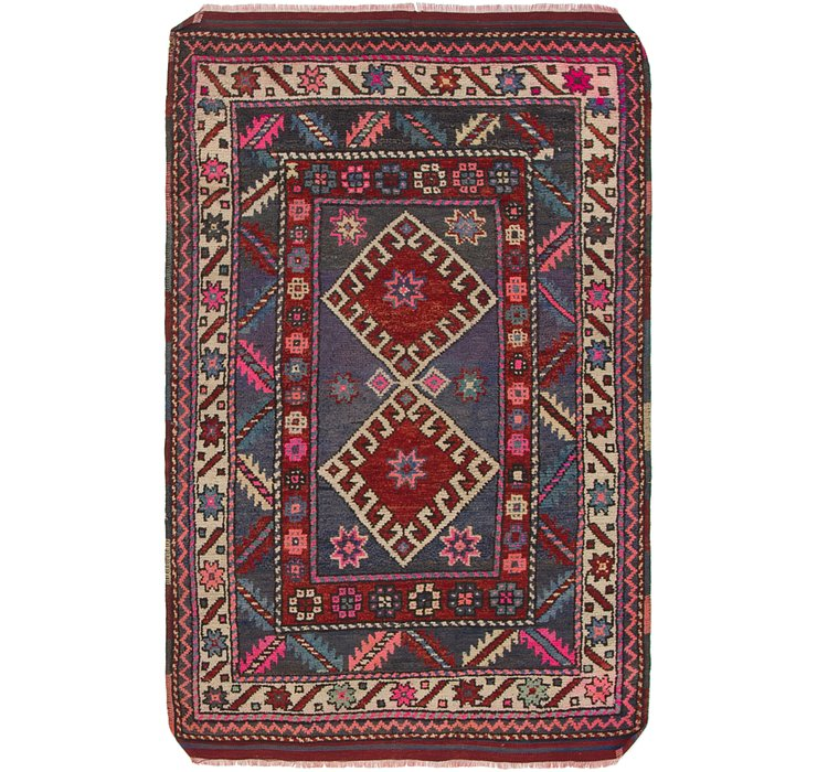 3' 4 x 5' 3 Anatolian Rug