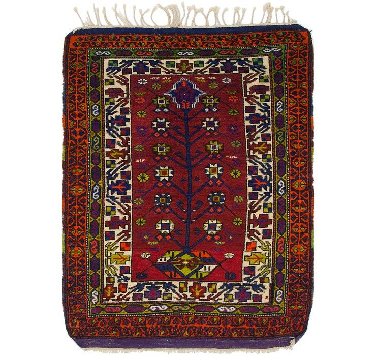 3' 5 x 4' 8 Anatolian Oriental Rug