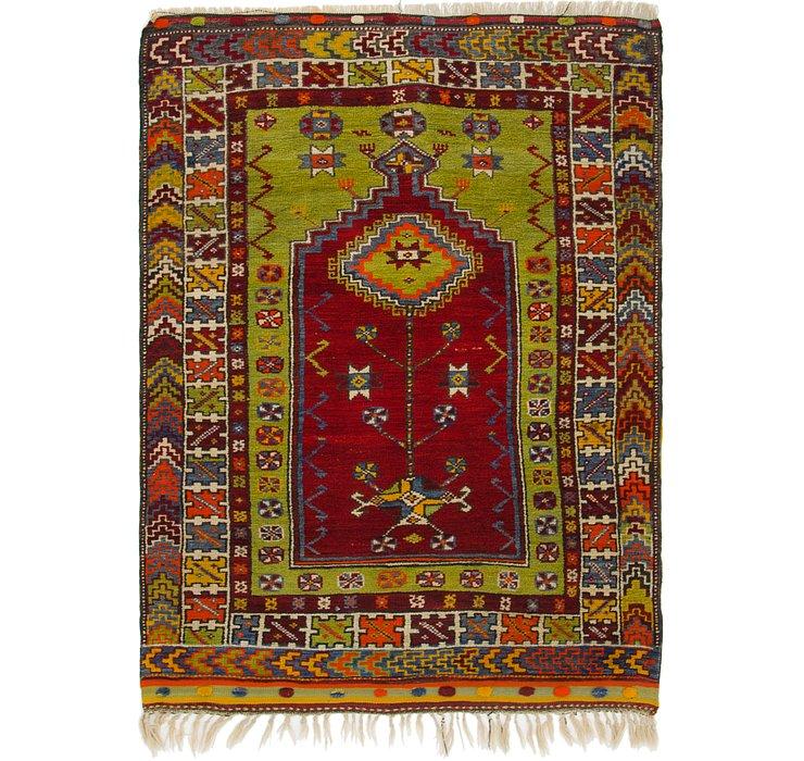 4' x 5' 6 Anatolian Rug