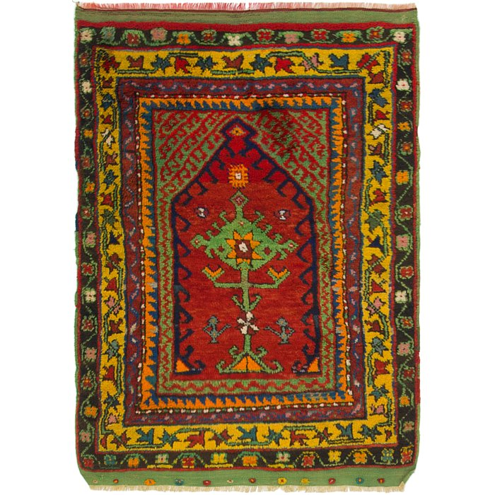 3' 2 x 4' 4 Anatolian Rug