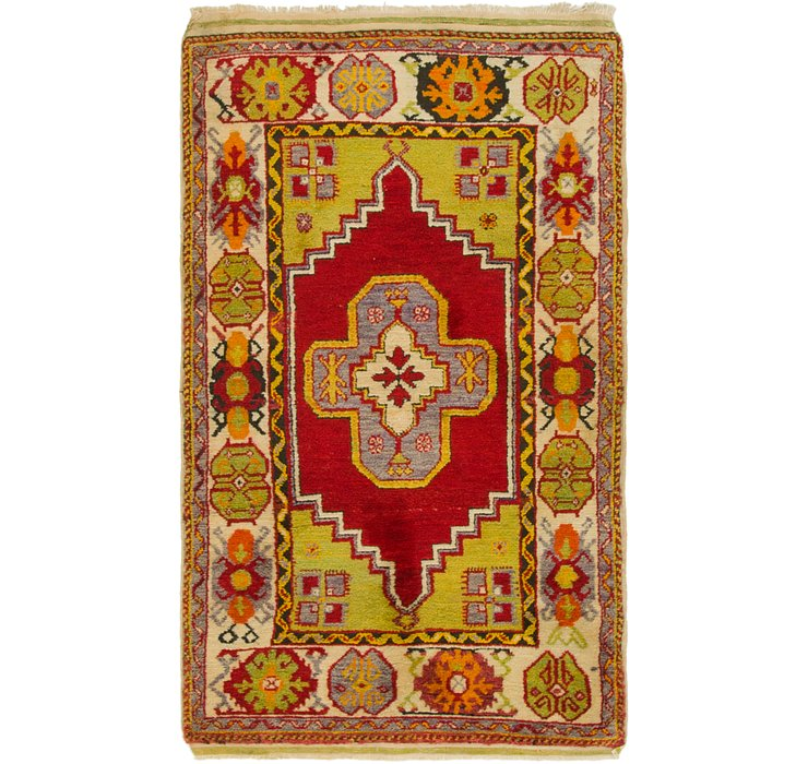 90cm x 152cm Anatolian Oriental Rug