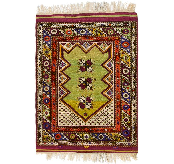 3' 2 x 4' 7 Anatolian Rug