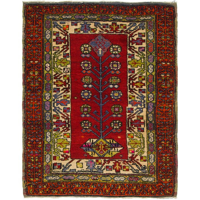 3' x 4' Anatolian Oriental Rug