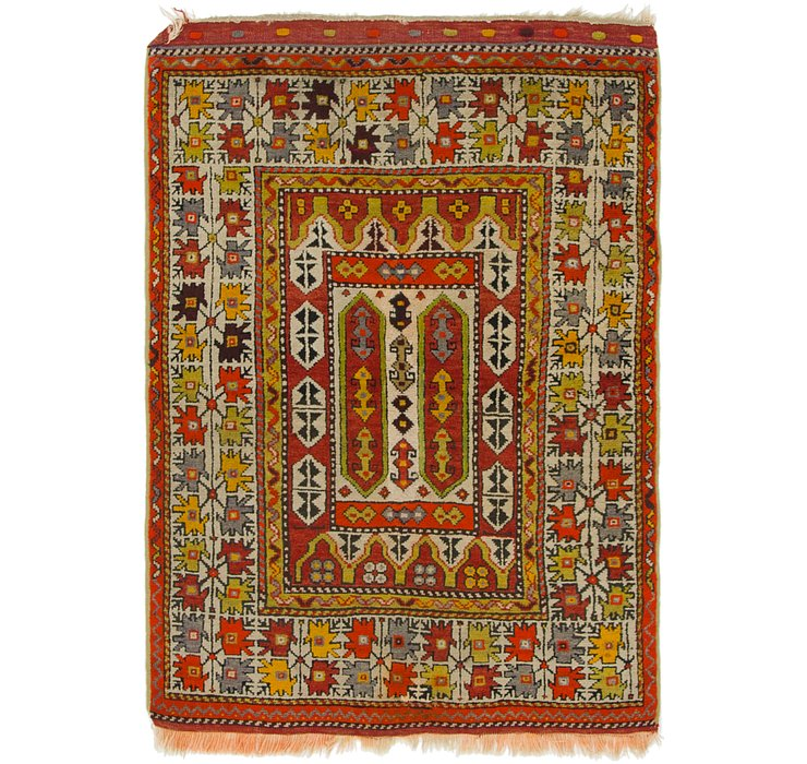 3' 3 x 4' 9 Anatolian Oriental Rug