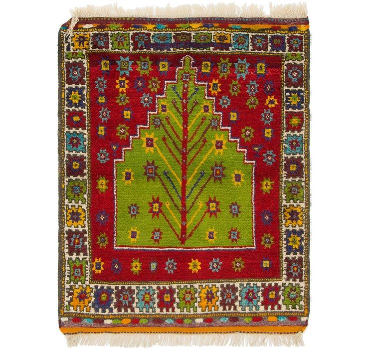 3' 7 x 4' 9 Anatolian Square Rug