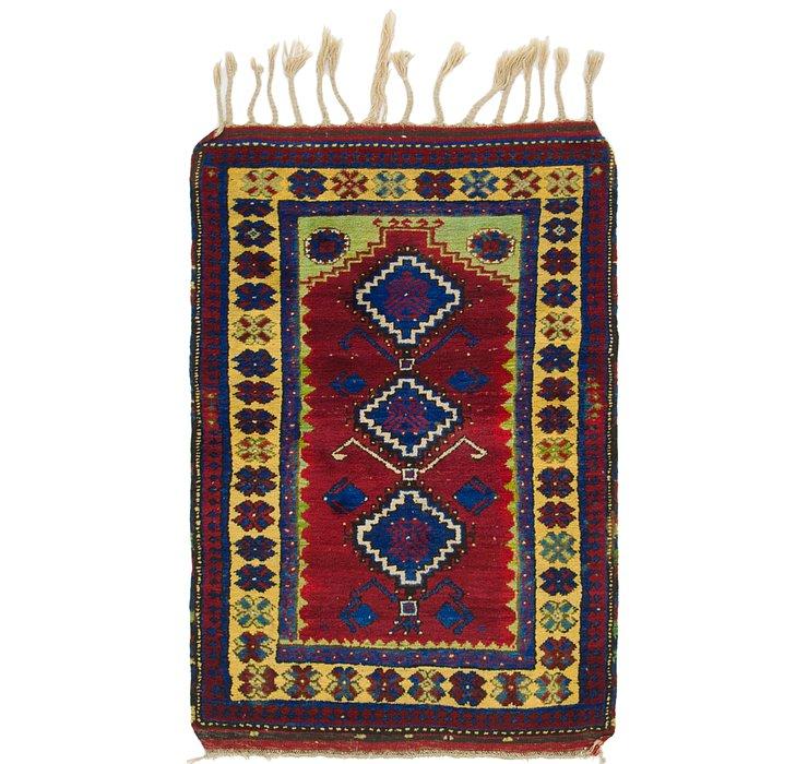 3' x 4' 7 Anatolian Oriental Rug