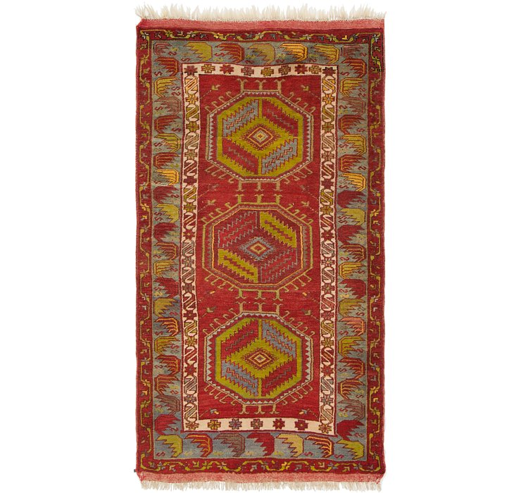 3' 5 x 6' 9 Anatolian Oriental Rug
