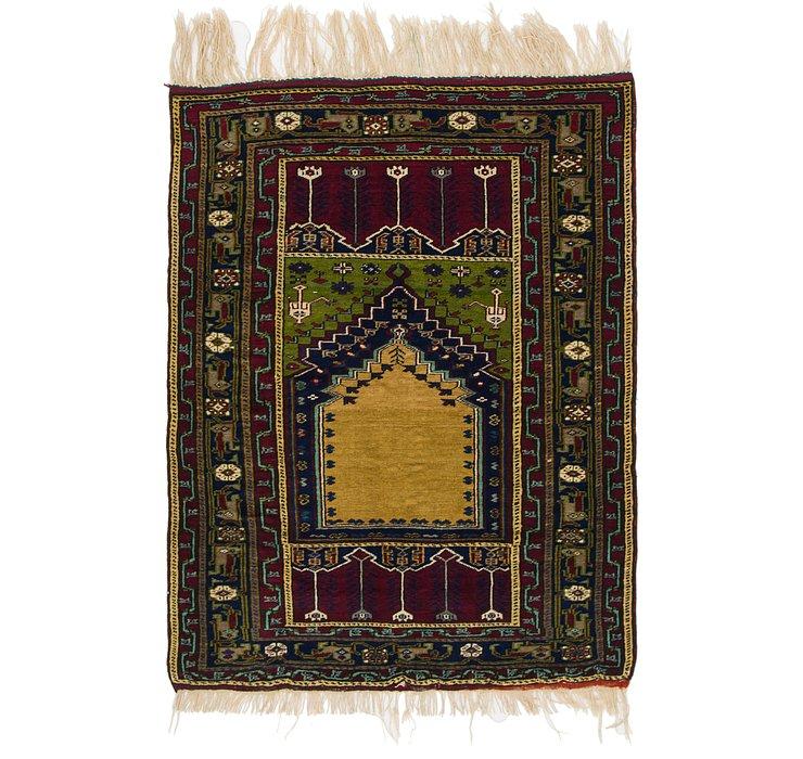 3' 10 x 5' 3 Anatolian Rug
