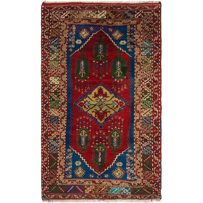 5' 2 x 8' 9 Anatolian Oriental Rug