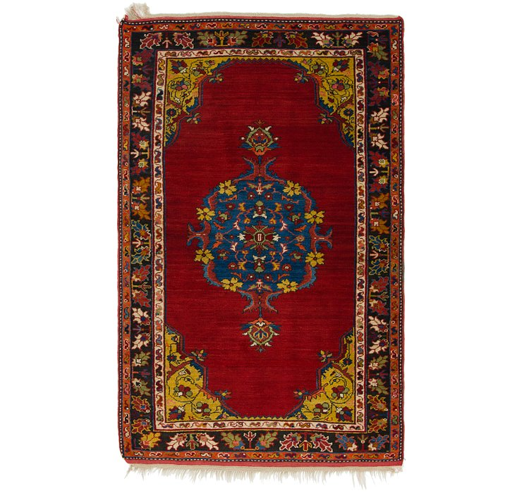 4' 3 x 7' 2 Anatolian Rug