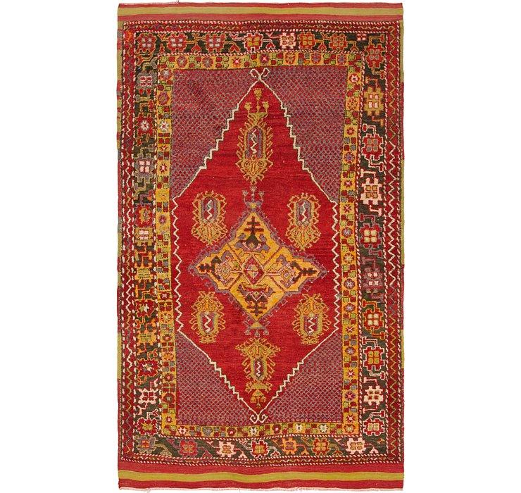 5' x 8' 9 Anatolian Rug