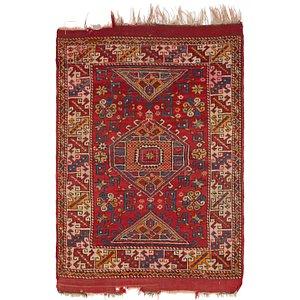 4' 6 x 6' 5 Moroccan Rug