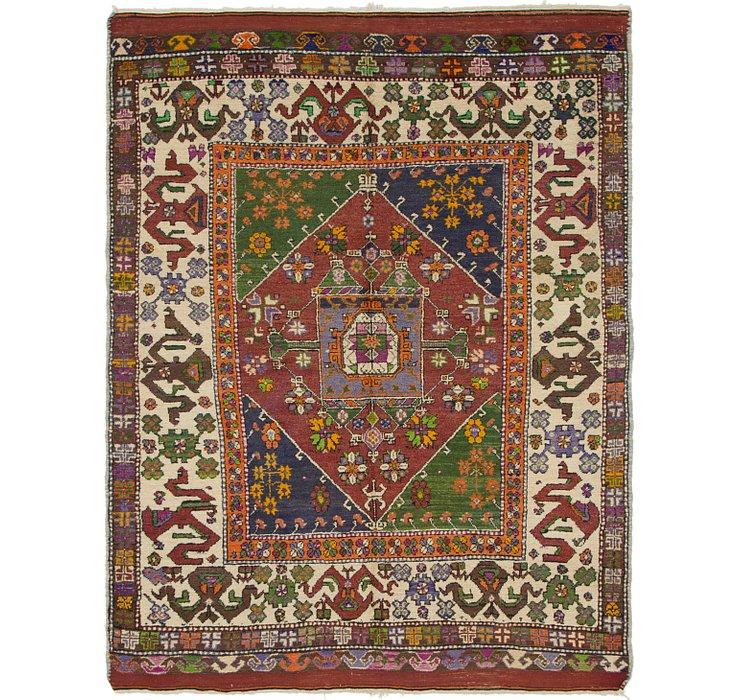 5' 3 x 7' 2 Anatolian Oriental Rug
