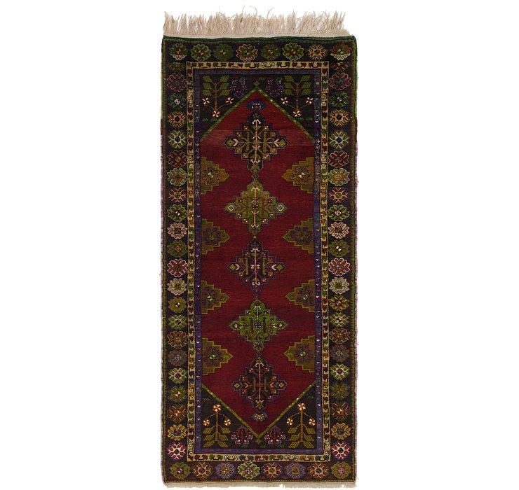 132cm x 312cm Anatolian Oriental Runn...