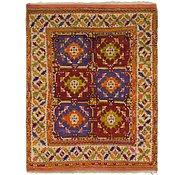 Link to 5' x 6' 6 Kars Oriental Square Rug