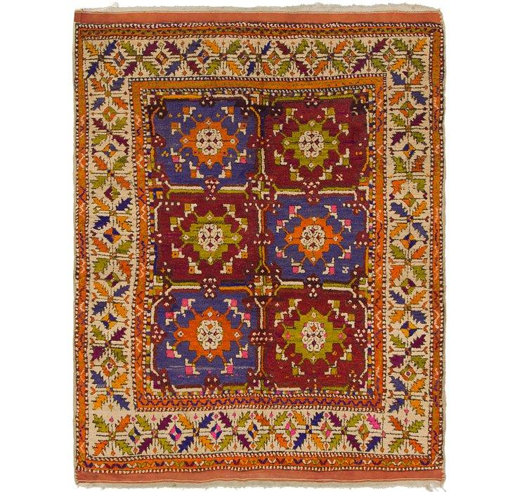 152cm x 198cm Kars Oriental Square Rug