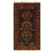 Link to 3' 8 x 7' Anatolian Oriental Runner Rug