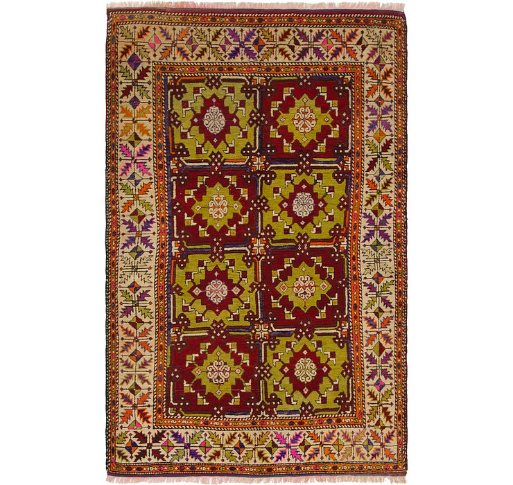 5' 8 x 9' Anatolian Rug