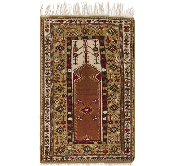 4' 4 x 7' Kars Oriental Rug