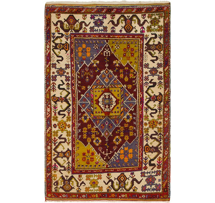 4' 10 x 7' 8 Anatolian Rug