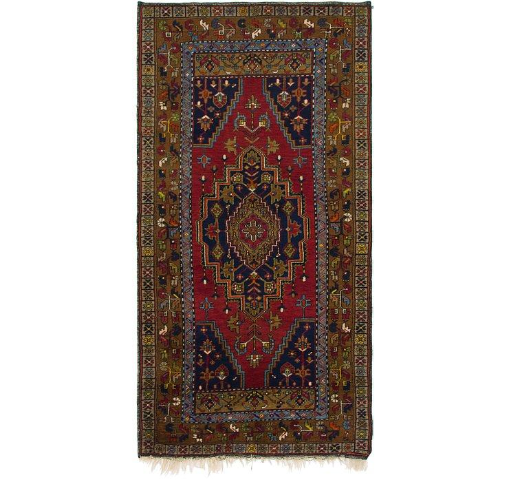 3' 6 x 7' Anatolian Oriental Rug